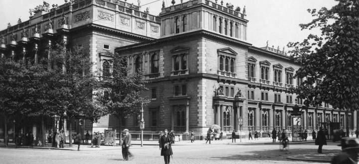 Der prominenteste Standort an der Wiener Ringstraße trägt heute nur noch den Namen Wiener Börse.