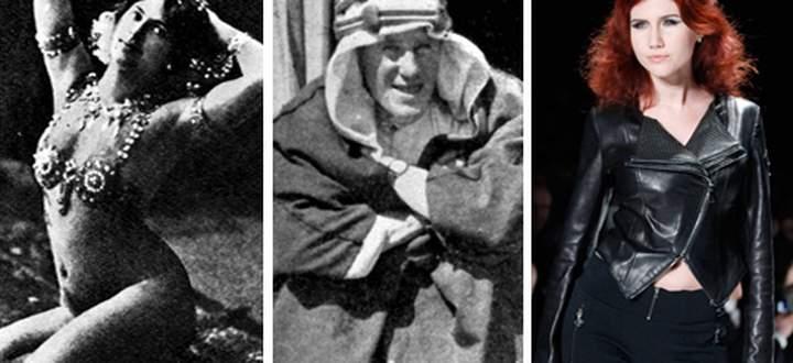 Drei Spione: Mata Hari, Lawrence von Arabien und Anna Chapman