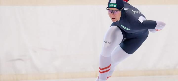 Sechseinhalb Jahre nach ihrem Debüt zählt Vanessa Herzog zu den Favoritinnen im Weltcup.
