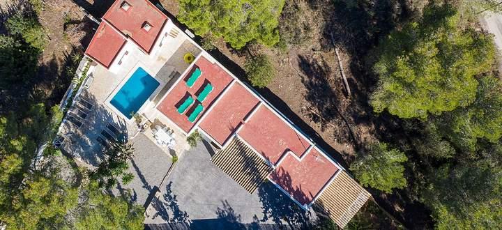 """Die Villa, in der das """"Ibiza-Video"""" gedreht wurde."""