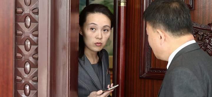 Kim Yo-jong auf einem Archivbild