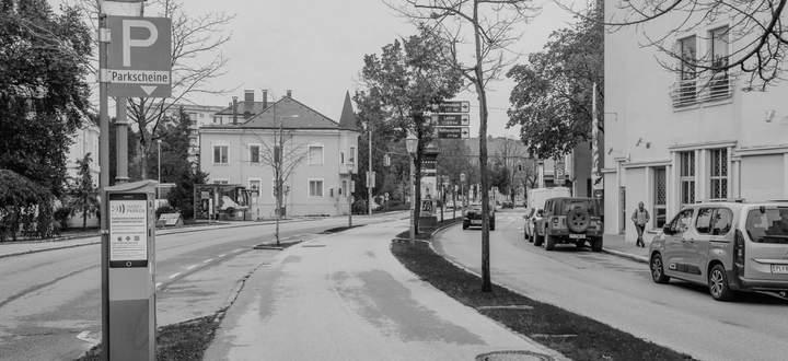 Soll als Begegnungsraum und Kontur der historischen Stadt gestärkt werden: der Promenadenring in Sankt Pölten.
