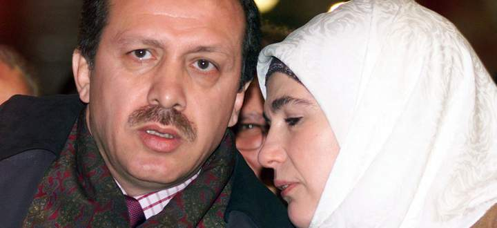 Erdogan und seine Frau Emine