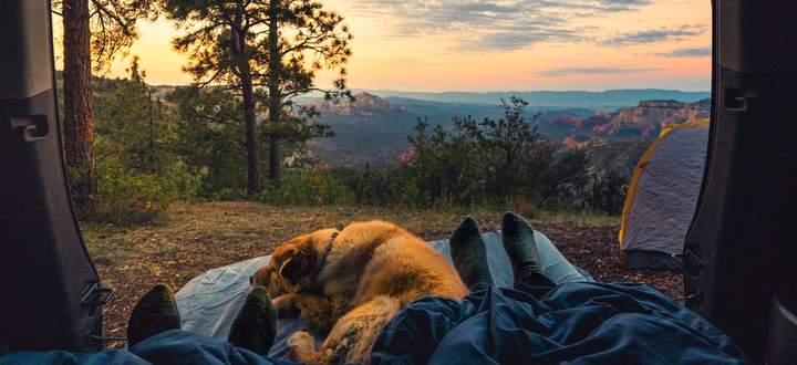 Mobil daheim. Campen ja, aber bitte in Alleinlage. Ein Traum, selten Wirklichkeit.
