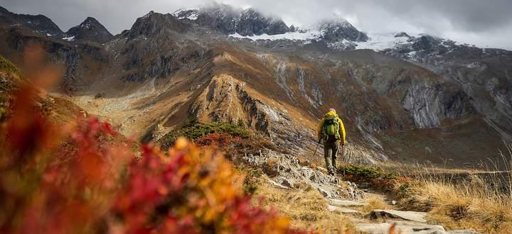 Wandern statt Städtereise. Die Herbstferien werden heuer kaum für touristische Impulse sorgen.