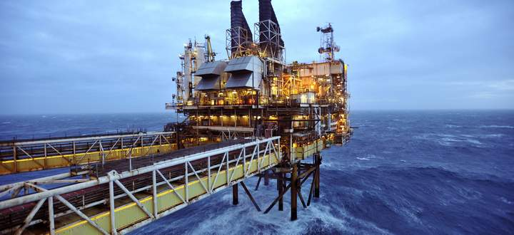 File photo of a section of the BP Eastern Trough Area Project oil platform in the North Sea