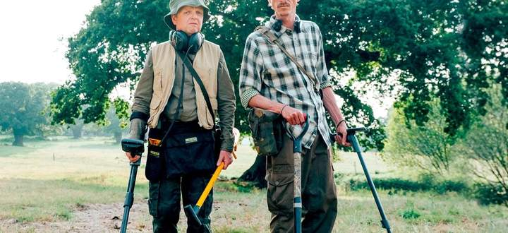 """Toby Jones und Mackenzie Crook in """"Detectorists"""""""