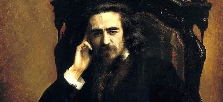 Porträt des Philosophen Wladimir Sergejewitsch Solowjew (Iwan Nikolajewitsch Kramskoi, 1885).