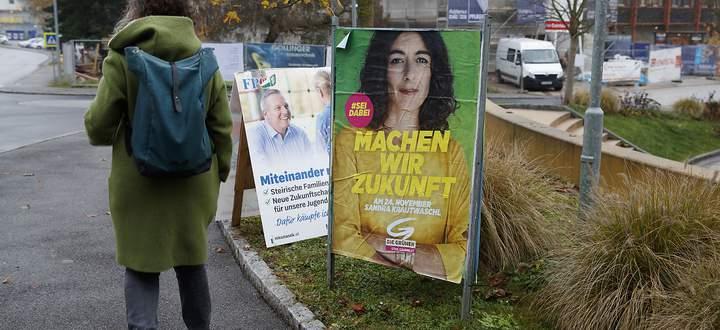 VORARLBERG-WAHL: PARTEIEN PLAKATIERTEN UeBER NACHT UM