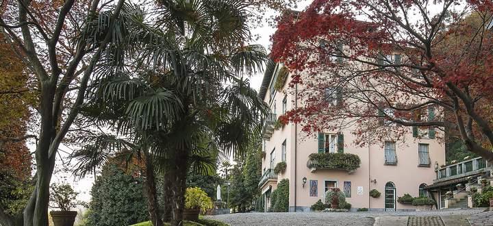 Die Villa am Lago Maggiore.