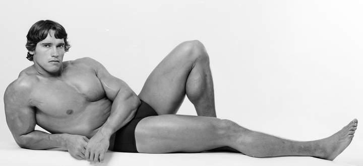 Arnold Schwarzenegger 1976.