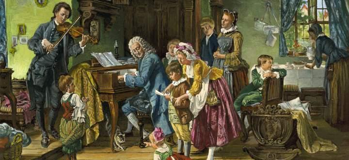 Musikalisches Zusammenleben: Anna Magdalena und Johann Sebastian Bach hatten 13 Kinder miteinander, von denen sechs das Erwachsenenalter erreichten.
