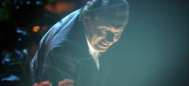Karel Gott bei einem Konzert zu seinem 70. Geburtstag in Prag