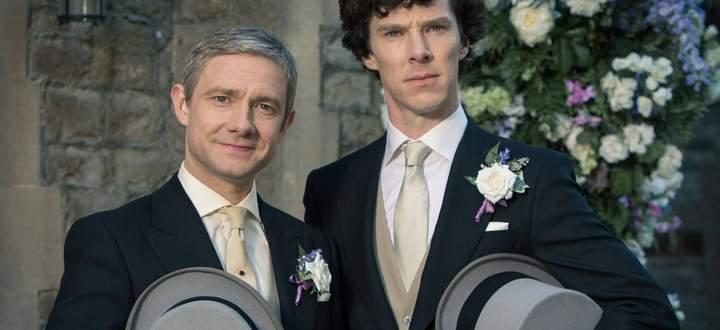 Sherlock und Dr. Watson, sehr britisch.