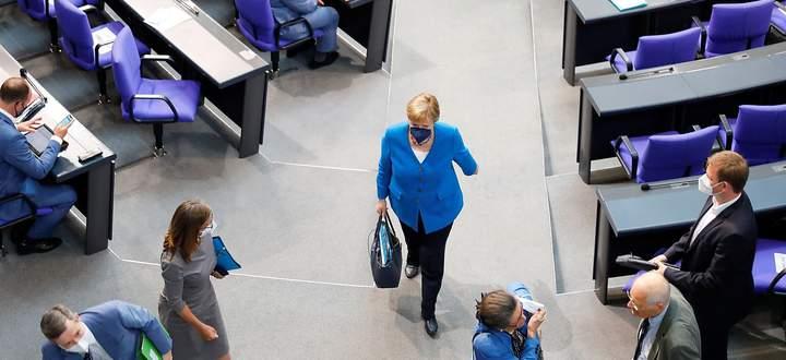 Sie wird dem nächsten Bundestag nicht angehören, Bundeskanzlerin Angela Merkel verlässt die Politik-Bühne.