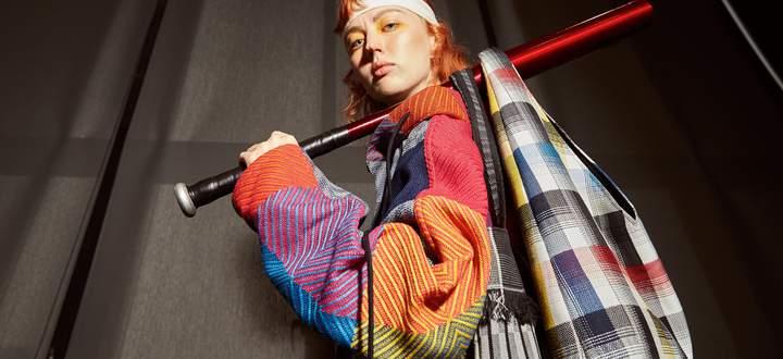 Die Textilien werden in der Doi-Tung-Gebirgsregion gefertigt.