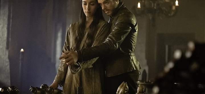 King in the Nord Robb Stark mit seiner Talisa