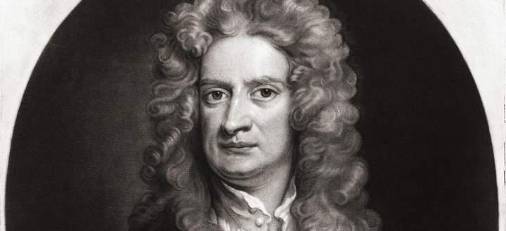 Sir Isaac Newton, 1642-1727.