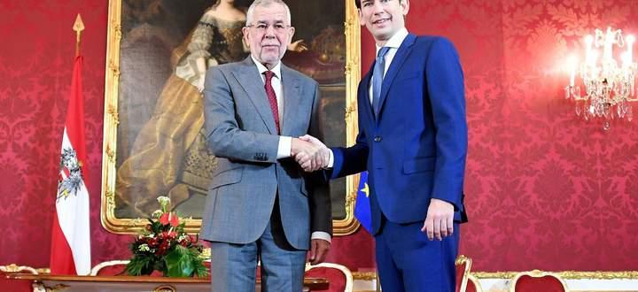 Sebastian Kurz wurde am Mittwoch als erster Parteichef von Bundespräsident Alexander Van der Bellen (l.) in der Hofburg empfangen. Die beiden werden sich in nächster Zeit öfter sehen.