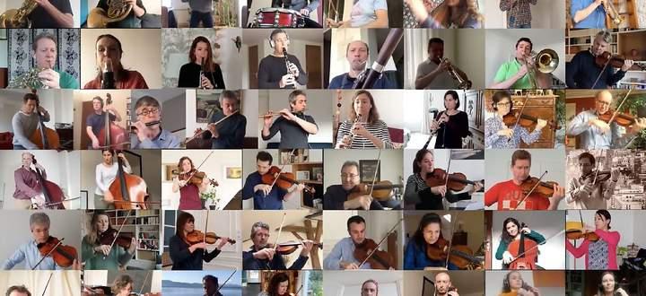 Selbst das französische Nationalorchester kann über Videokonferenz-Anbieter wie Zoom ein wenig weiterarbeiten.