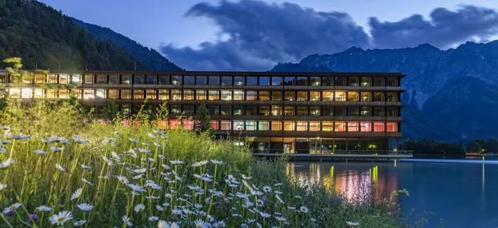 Das Zentrum der Vorarlberger Kraftwerke in Vandans.