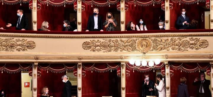 Die Scala ist wieder geöffnet.