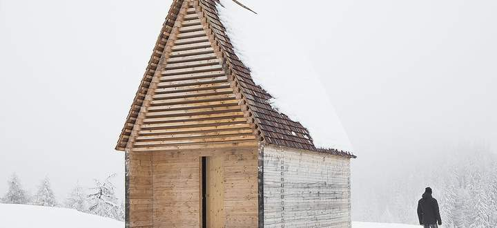 Gold-Gewinner 2019: Sonstige Bauten: Bergkapelle Kendlbruck