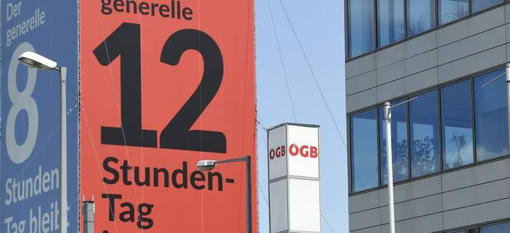 ++ THEMENBILD ++ 'ARBEITSZEIT-FLEXIBILISIERUNG - 12-STUNDEN-TAG FUeR ARBEITNEHMER'