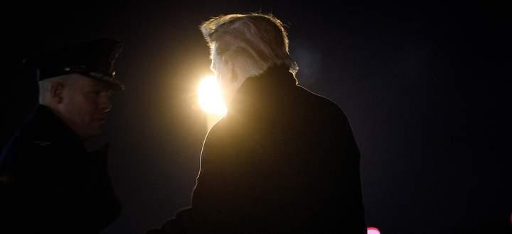Der Präsident im Zwielicht. Donald Trump entzweit die Nation mehr denn je seit seinem Amtsantritt.