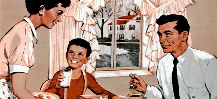 Das Lob dafür, dass ich mich um meine Tochter kümmere, sagt alles: Nie hätte jemand meine Frau gefragt, ob sie das Kind wirklich selber wickle. SAMSTAG, 27. JUNI 2020 DIE PRESSE.COM/SPECTRUM Unser Rollenbild? Wie aus einer Werbung der Fünfzigerjahre.