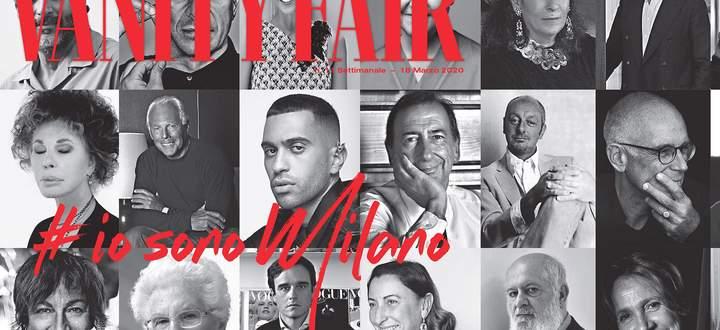 """Cover der """"Io sono Milano""""-Ausgabe von Vanity Fair."""