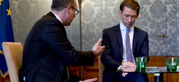 Gingen zuletzt auf Distanz zueinander: Kanzler Kurz (r.) und Vizekanzler Strache.