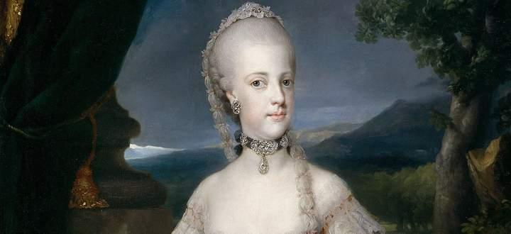 Sie wurde von französischen Truppen aus ihrem Königreich vertrieben, kehrte zurück, wurde noch einmal vertrieben, starb im Exil in Wien: Maria Carolina.