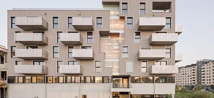 Neubau Wohnanlage: Das Haus am Park, Wien