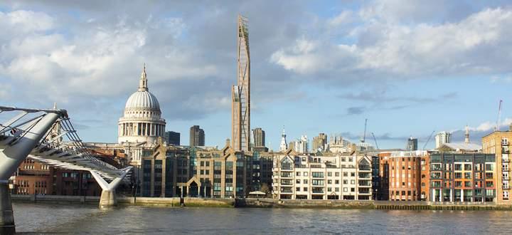 Oakwood Timer Tower, London.