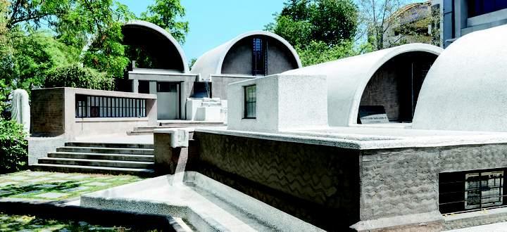 Architekturbüro Sangath, Ahmedabad, 1980