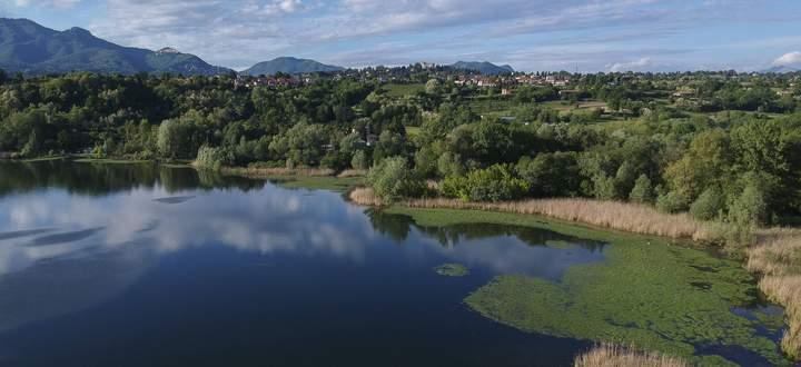 Blick auf Lago di Varese