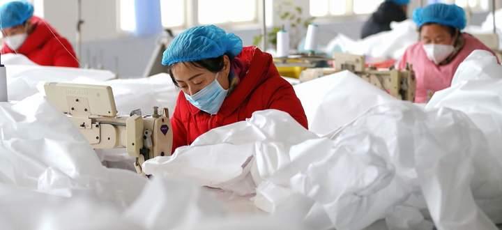 Nur in 30 Prozent aller chinesischen Klein- und Mittelbetriebe wird gearbeitet.