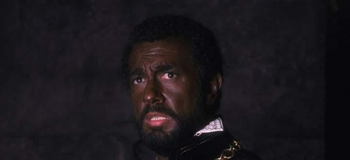 Plácido Domingo: 21-mal Otello allein an der Wiener Staatsoper, immer mit viel Farbe im Gesicht.