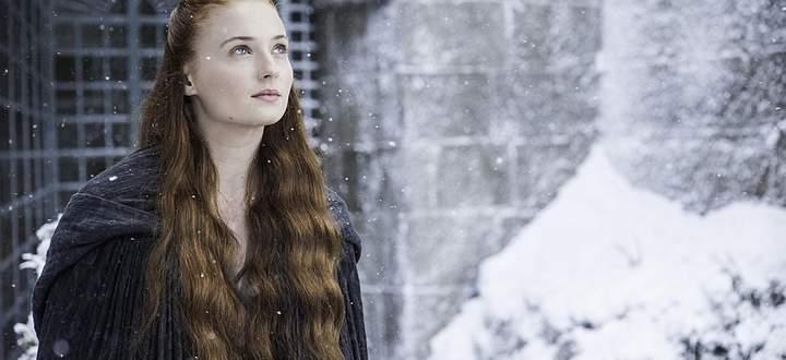 Sansa im Schnee