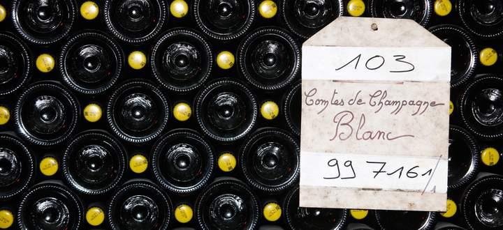 Reims ist ein Paradies für rare Champagner