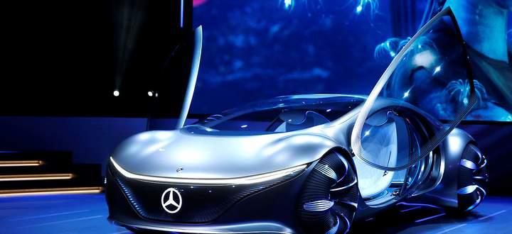 Mercedes-Benz Vision AVTR bei der 2020 CES in Las Vegas