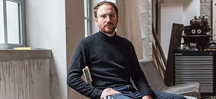 Studio. In der Hütteldorfer Straße teilt sich Schillinger sein Atelier mit anderen.