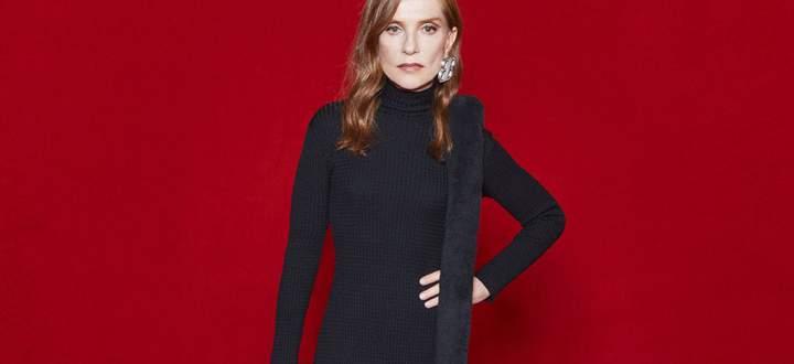 Ehrengast am Red Carpet oder doch Mannequin bei der Modeschau? Isabelle Huppert war beim Verwirrspiel von Balenciaga im Einsatz.