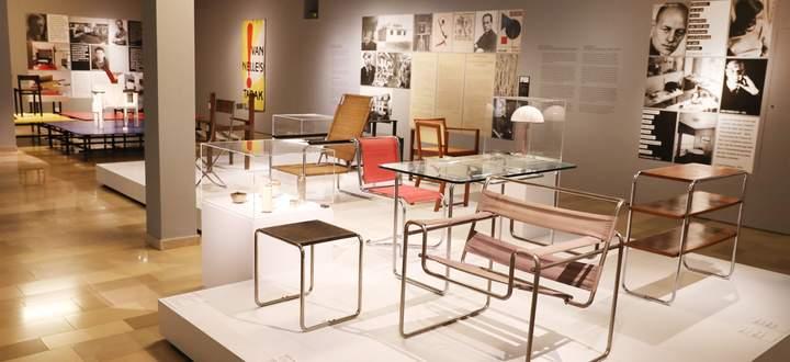 Ausstellungsansicht, Möbelmuseum Wien