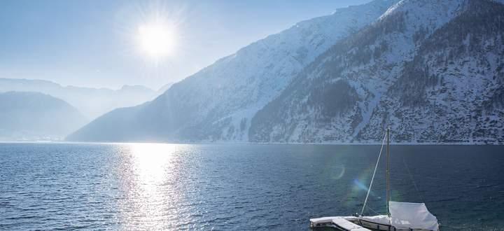 Winterstimmung am Achensee.