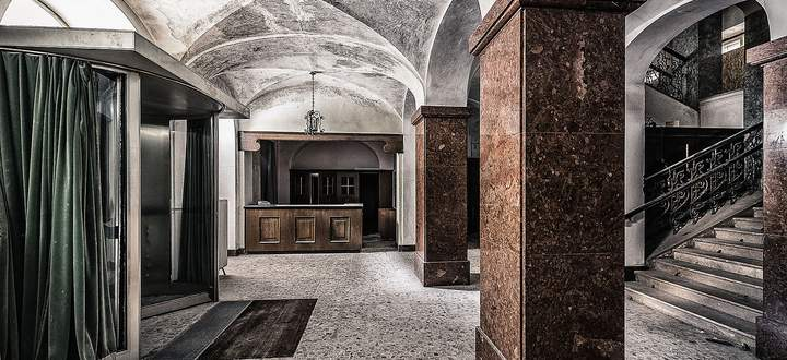 Das Foyer des Hotel Straubinger.