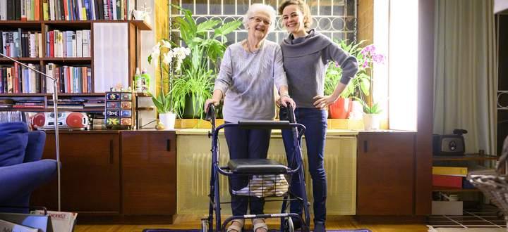 Dorothea Simon und Elisabeth Hofbeck: In ihrer WG ist durchaus etwas los.