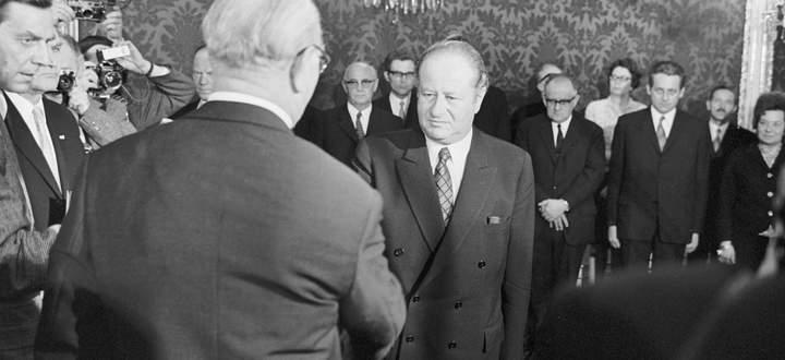 Die erste und einzige Minderheitsregierung der Zweiten Republik war die Regierung Kreisky I vom Jahr 1970. Eine Erfolgsgeschichte.