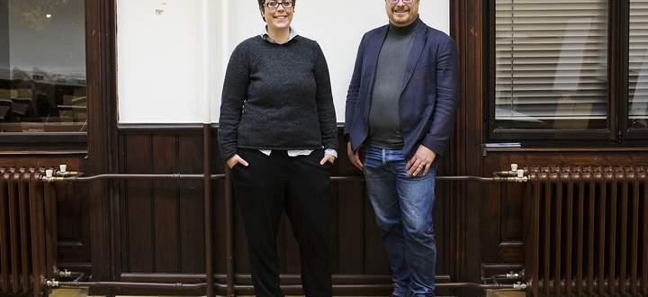 Katja Langmaier und Manuel Hafner
